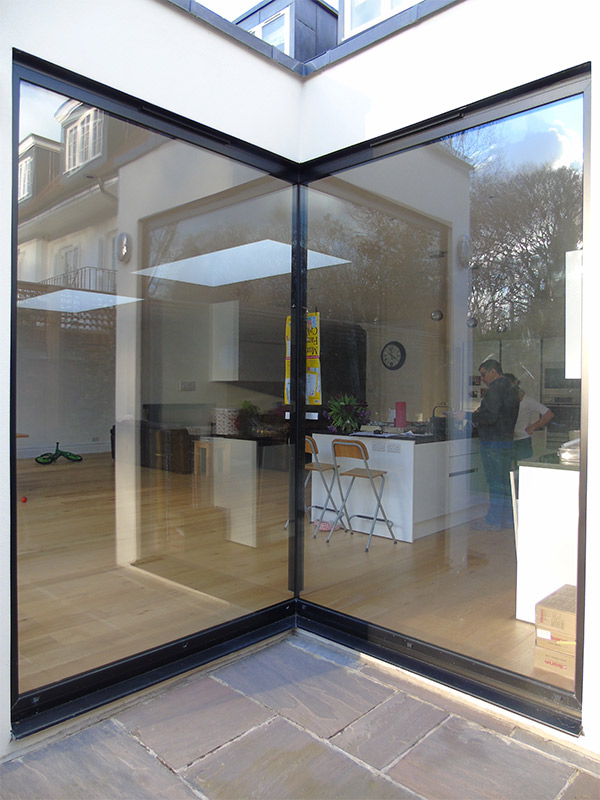 Frameless Glass Window Seats 1st Folding Sliding Doors