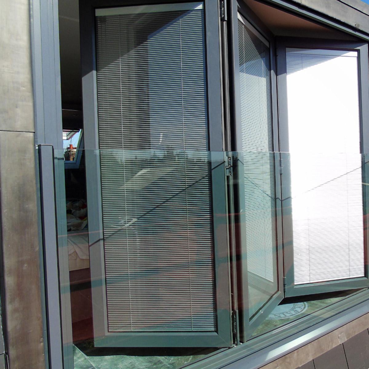 Folding Sliding Glass Doors Frameless Best Glass