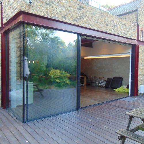 20mm virtually frameless sliding doors 1st Folding Sliding Doors