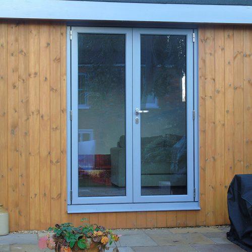 French doors single doors front doors 1st folding for Split french doors