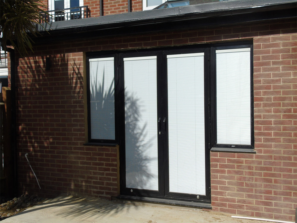 French doors single doors front doors 1st folding for Single door french doors