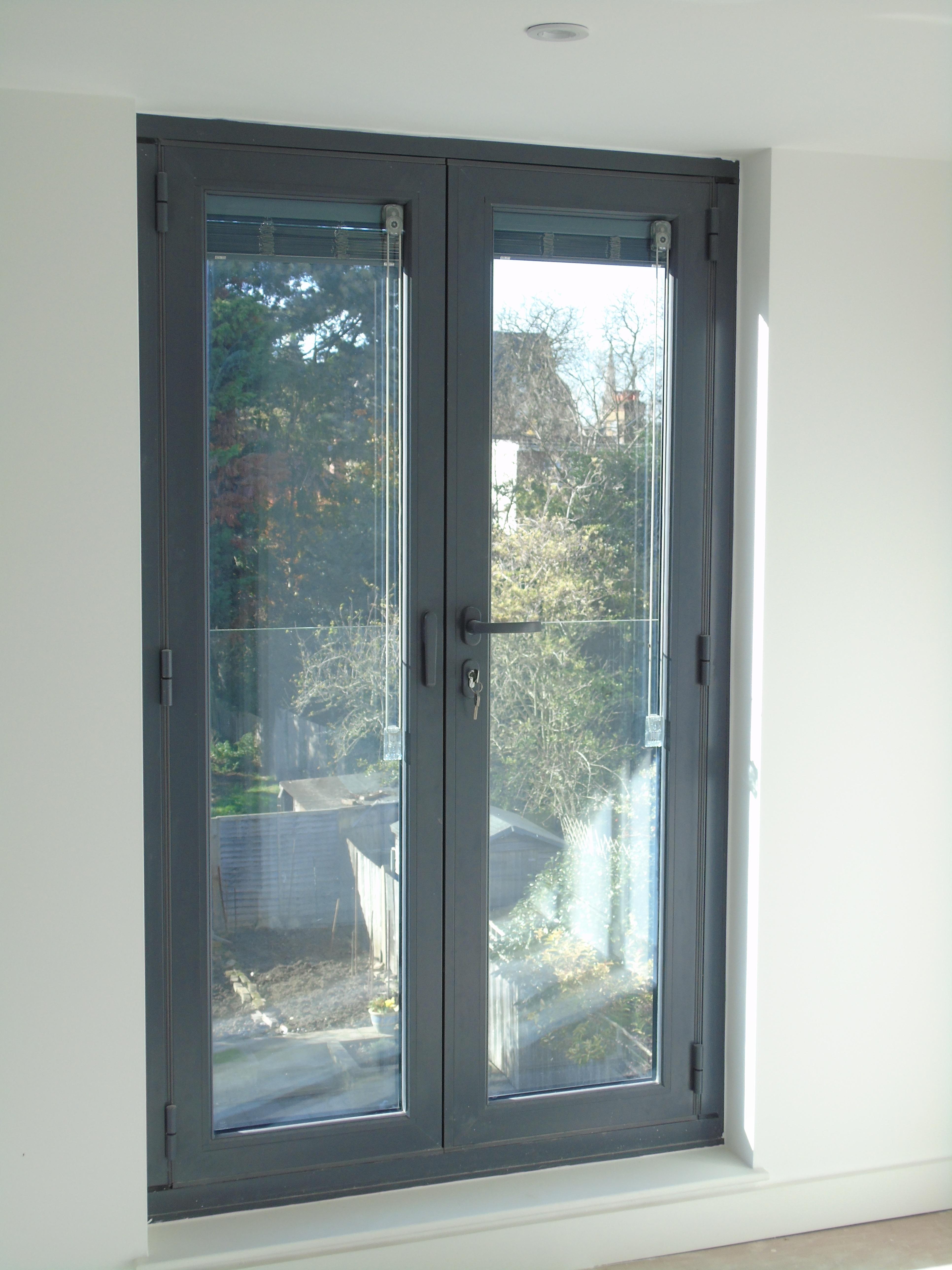 Bedroom With Sliding Glass Door