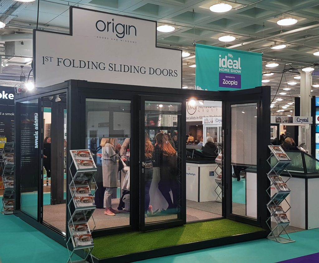 Ideal Home Show Kensington Olympia London 1st Folding Sliding Doors