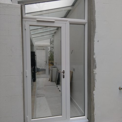 corridors, infill, Lean-to Roofs, privacy glass