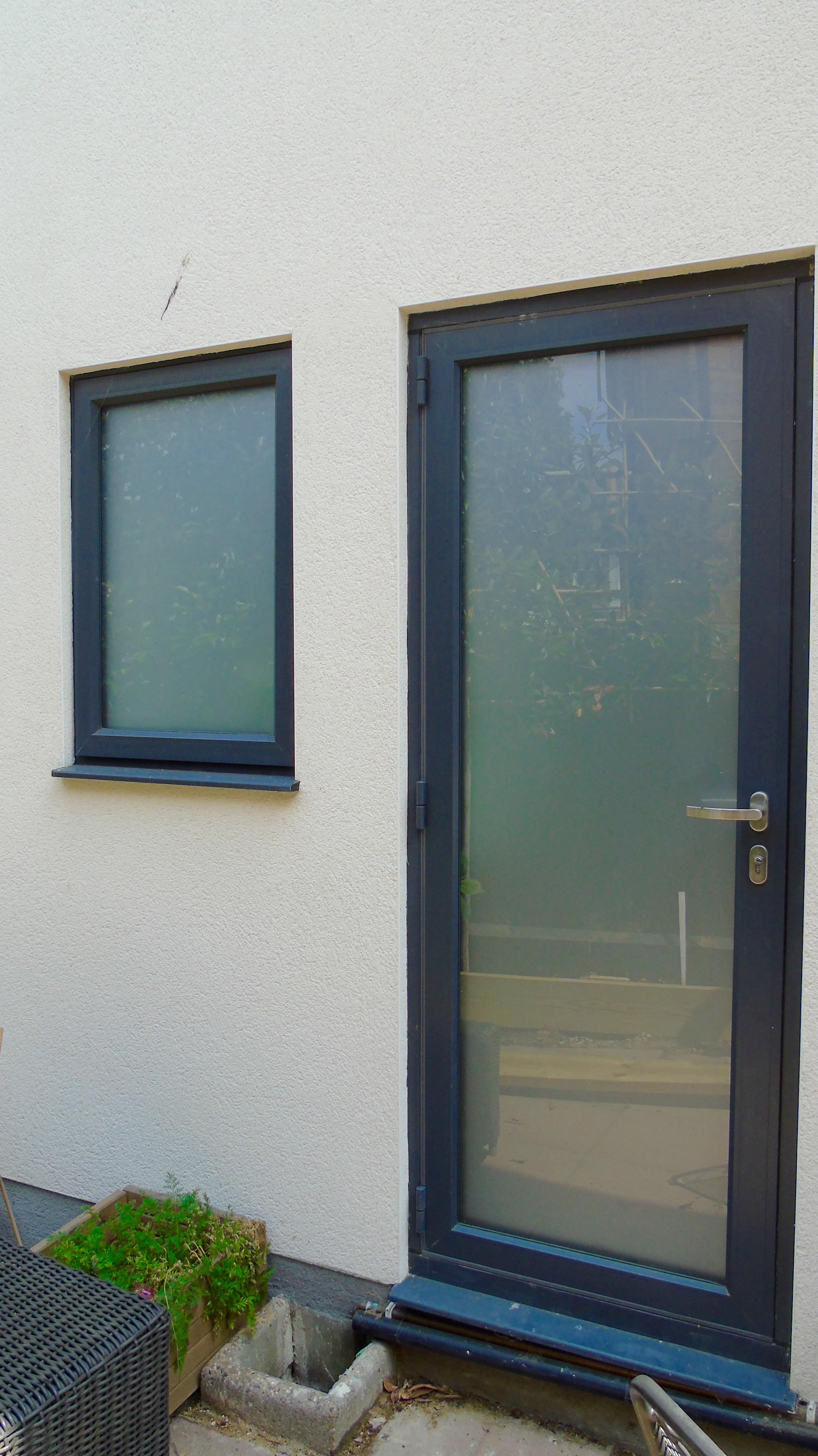 Side Utility Door And Window