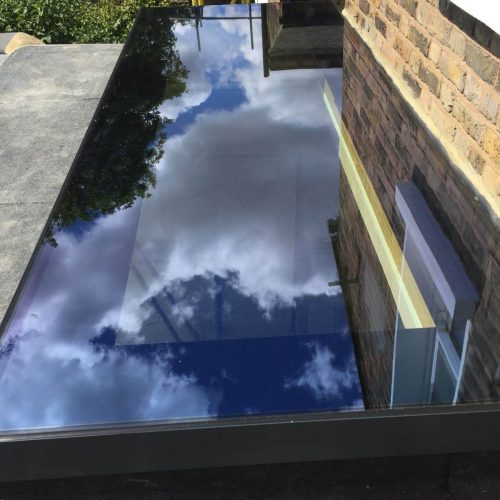 Skylight, roof lantern - 1st folding sliding doors