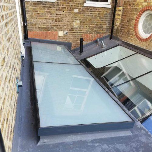 Frameless glass roofs - 1st Folding Sliding Doors