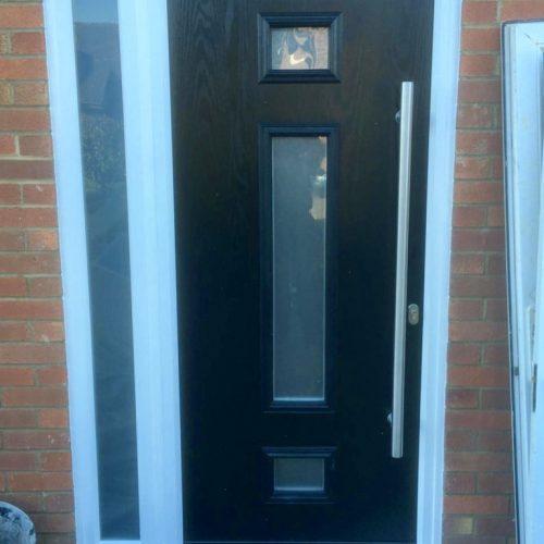 Composite door - 1st folding sliding door