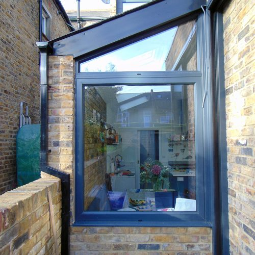 Shaped window - 1st folding sliding door