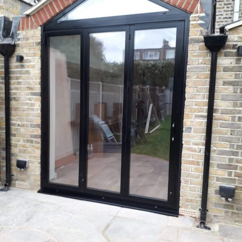 Sunflex 3 door bifold - 1st Folding Sliding Doors