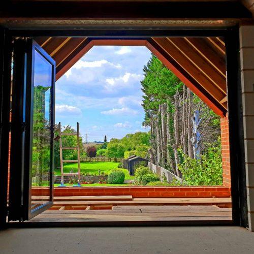 Easifold Bifold - 1st folding sliding doors