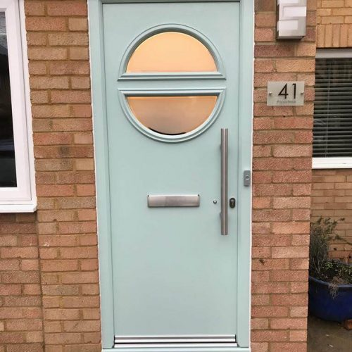 Port Hole Frunt Door - 1st Folding Sliding doors