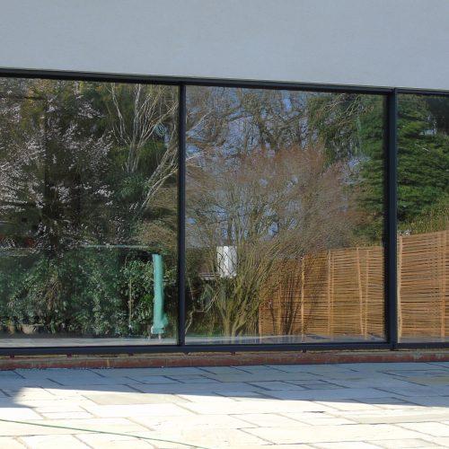 20mm virtually frameless sliding door