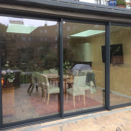 35mm Aliplast sliding door