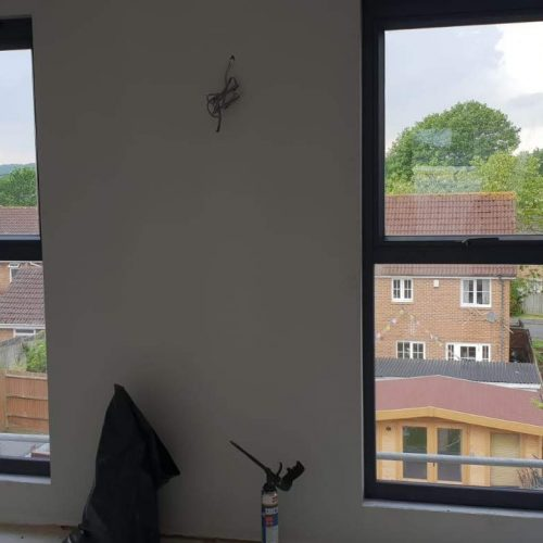 Loft Windos, full height windows