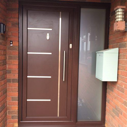 Aluminium Front Door - 1st Folding Sliding Doors