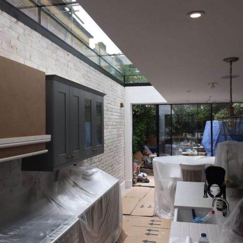 Frameless glass roof - 1st Folding Sliding Doors