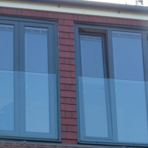Tilt and Turn windows in a loft
