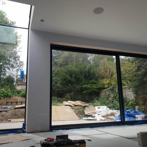 Frameless glass Box - 1st Folding Sliding Doors