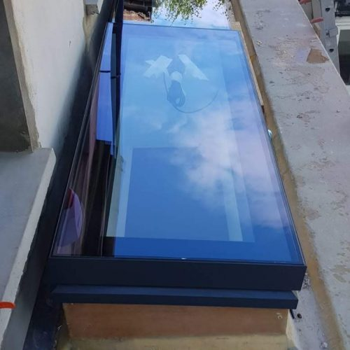 Skylight, roof lantern - 1st folding sliding doors