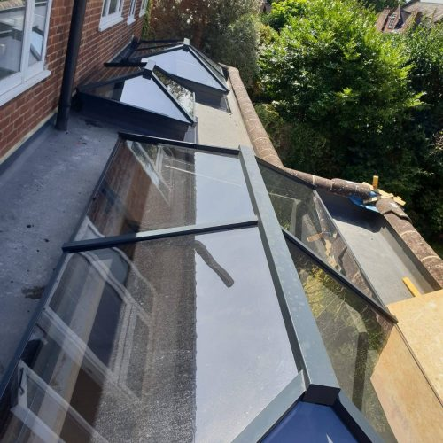 Roof Lantern - 1st Folding Sliding Doors