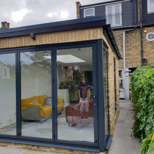 Sunflex Corner Bi-Fold Door