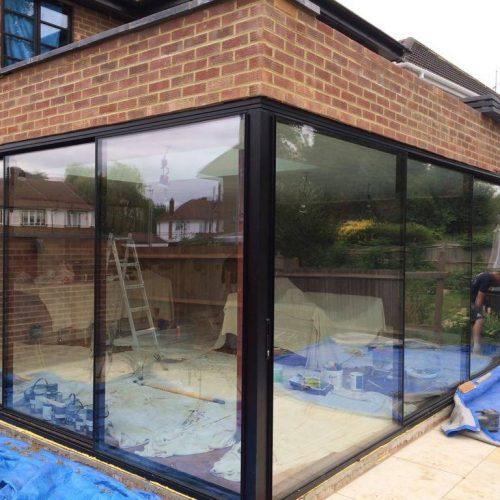Virtually Frameless 20mm sliding door