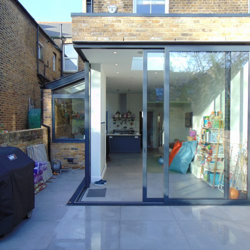 1st Folding Sliding Doors - 90 degree