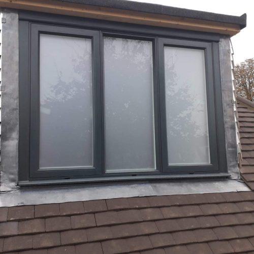 Triple section window - 1st folding