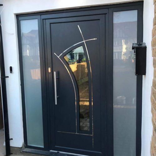 Aluminium Front Door - 1st Folding