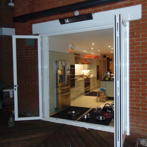 3 Panel Easislide bi-fold door