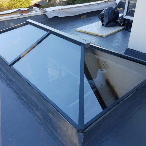 Traditional aluminium roof lantern