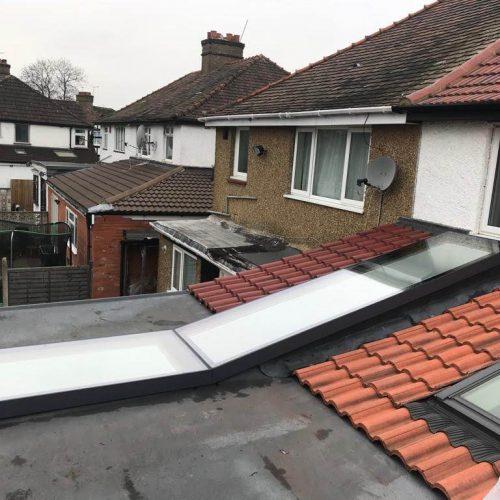 Rooflantern - 1st folding Sliding Doors
