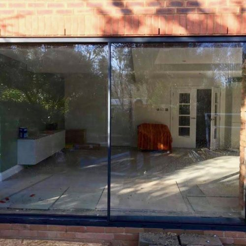 1st Folding Sliding Doors - 20mm virtually frameless sliding door