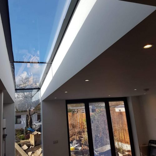up and over roof - 1st Folding Sliding Doors