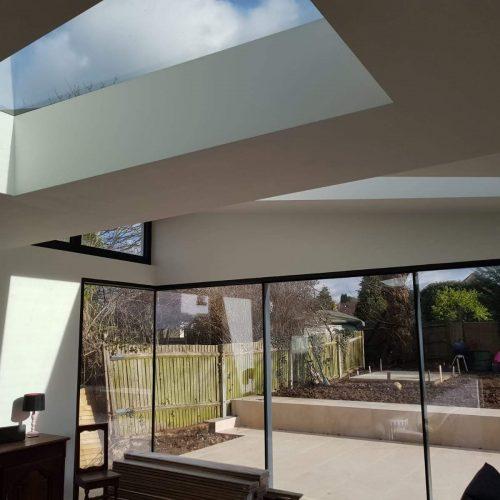 Frameless glass corner - 1st Folding Sliding Doors