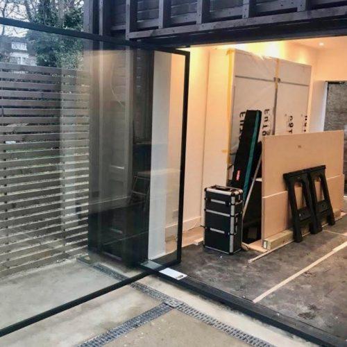 1st Folding Sliding Doors - Pivot Door Installation