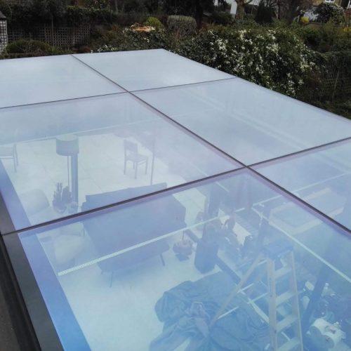 Frameless glass structure