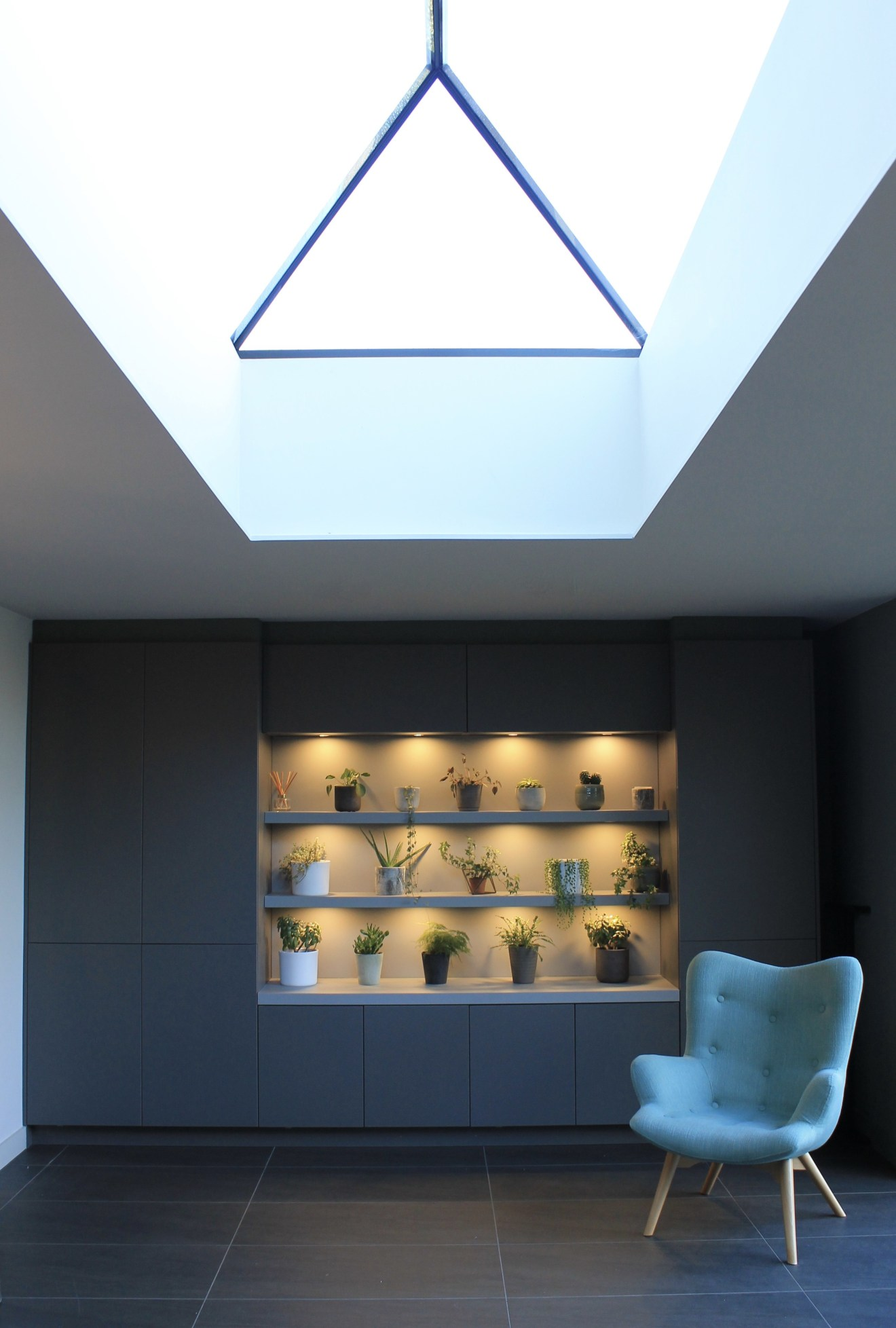 Frameless Roof Lantern