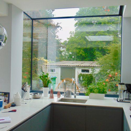 Frameless Window Box - 1st Folding Sliding Doors